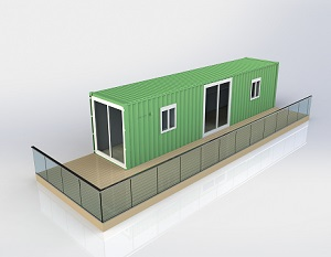 Container en mobil home